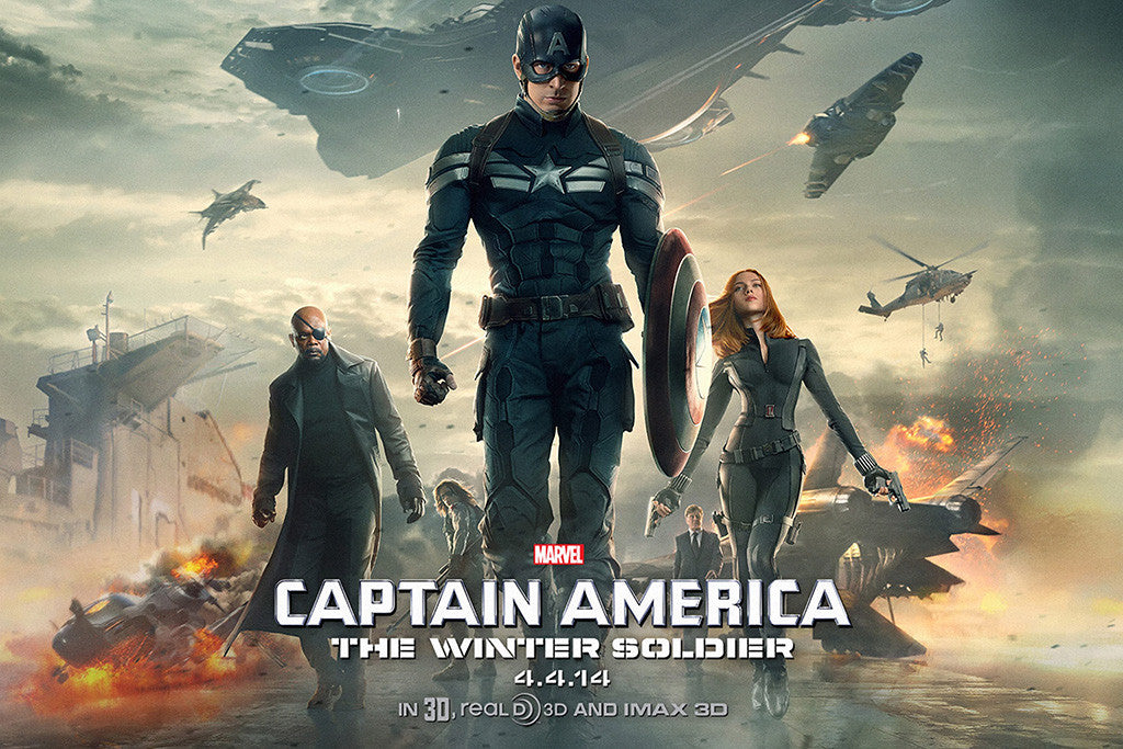 Captain America The Winter Soldier Movie Poster – My Hot Posters