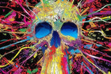 Psychedelic Trippy Poster