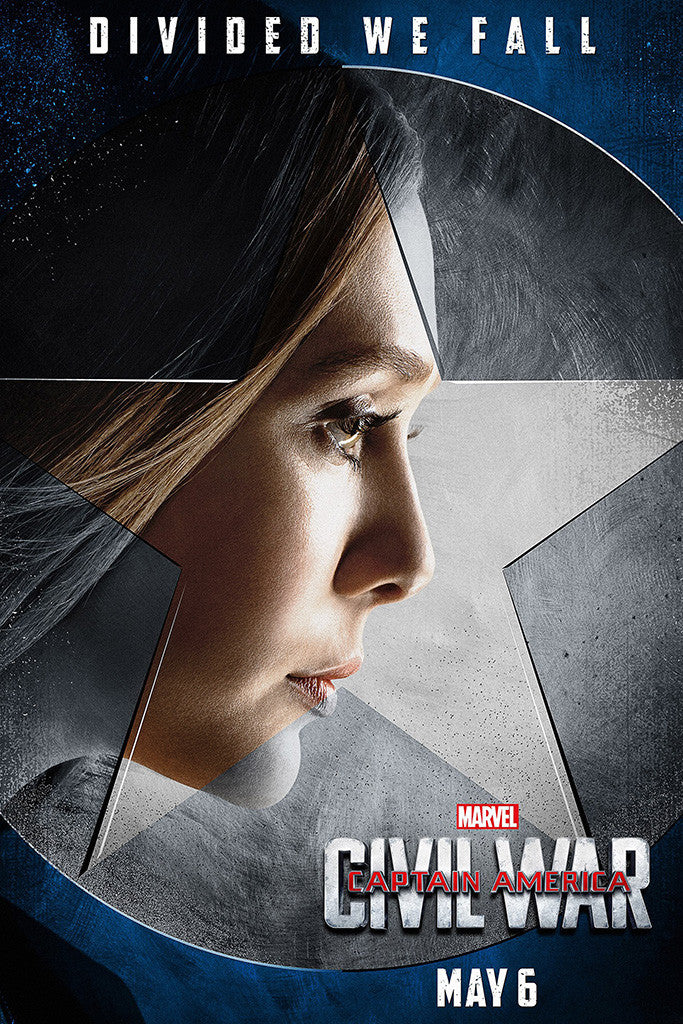 Captain America Civil War Movie Poster 2/10
