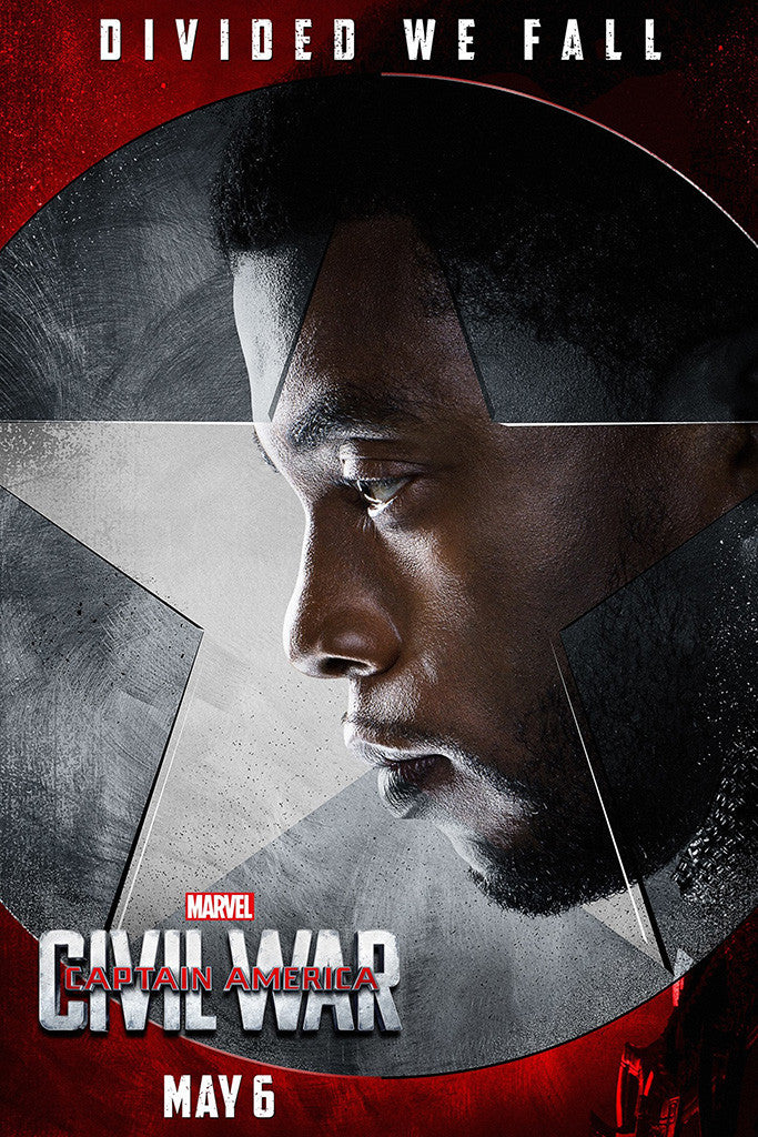 Captain America Civil War Movie Poster 4/10