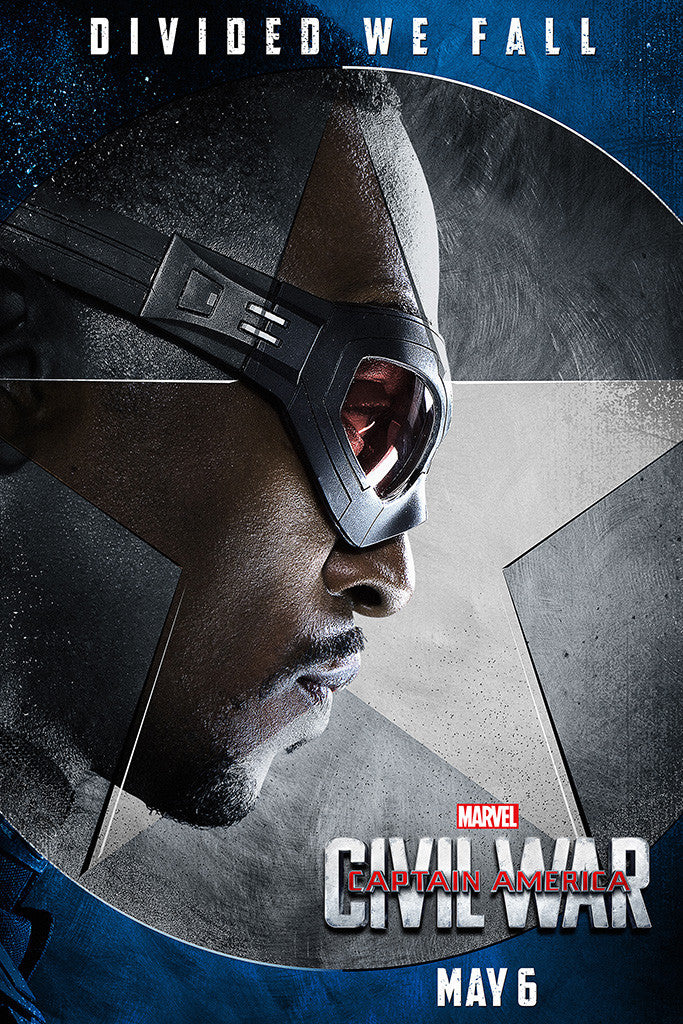 Captain America Civil War Movie Poster 6/10