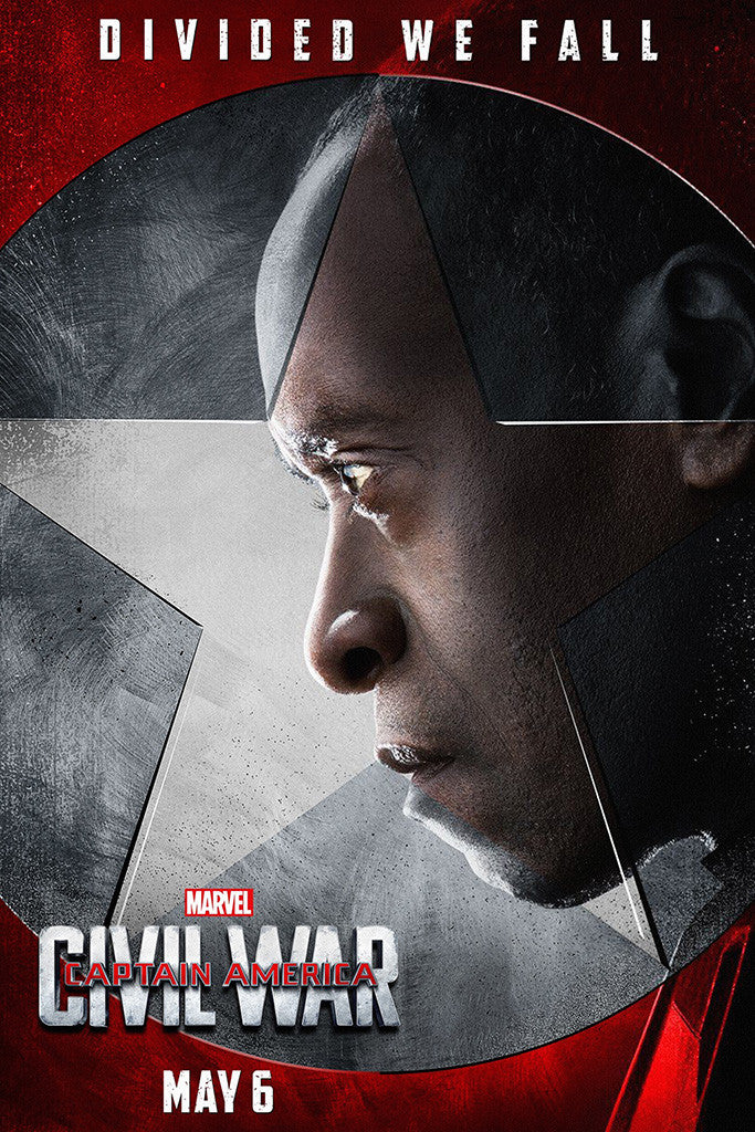 Captain America Civil War Movie Poster 8/10