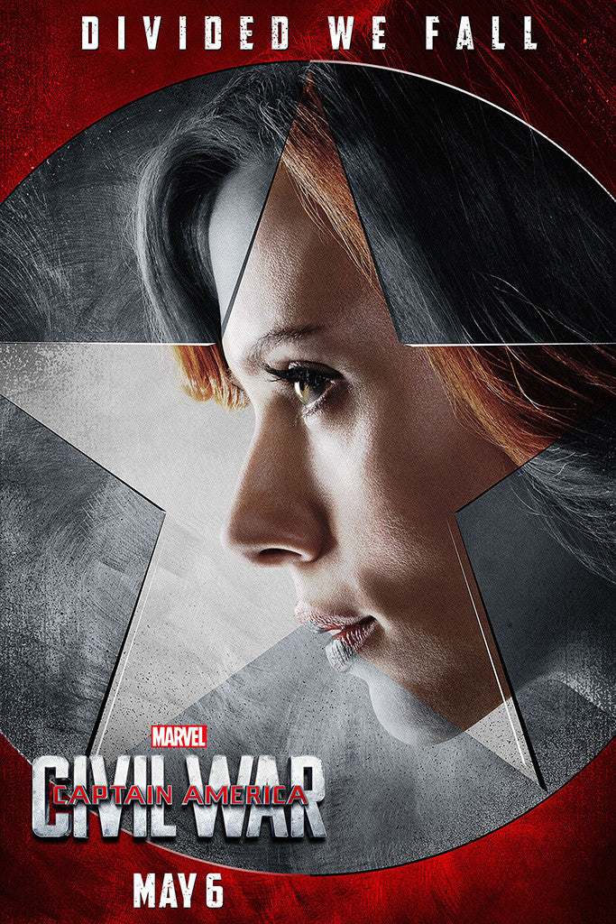Captain America Civil War Movie Poster 10/10