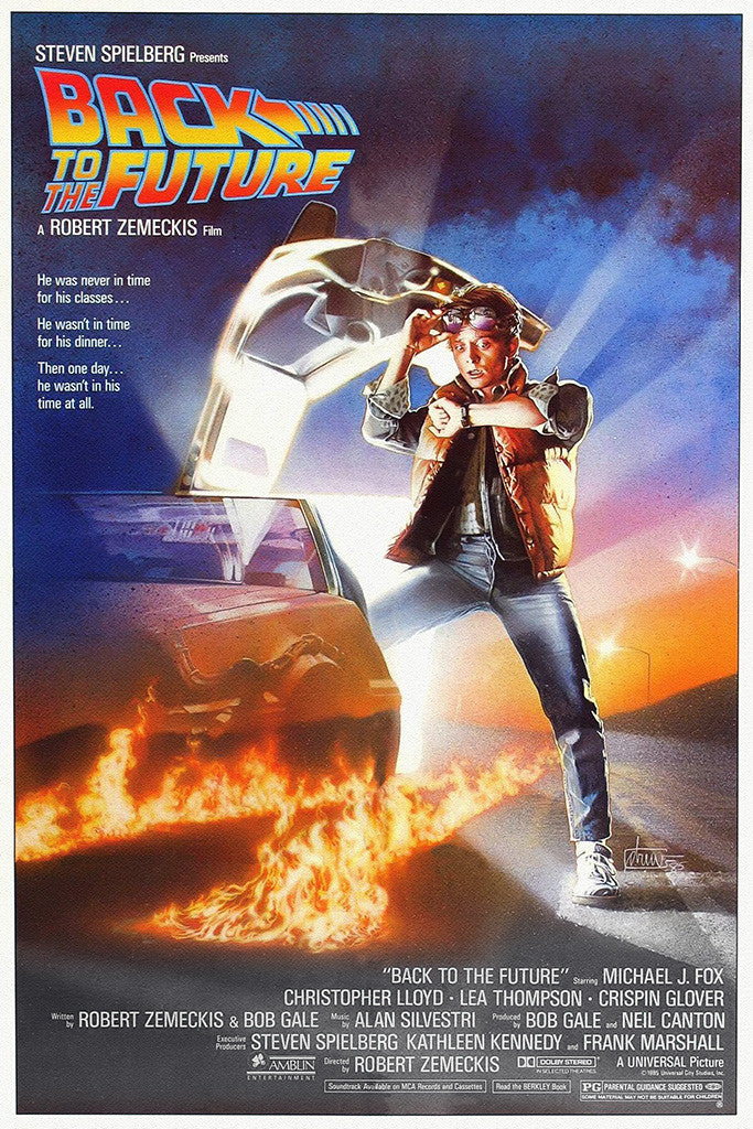 Back To The Future 1 2 3 Movie Poster