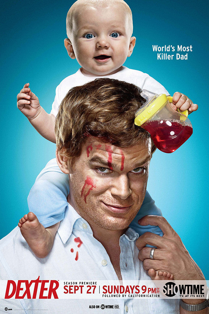 Dexter The Fourth 4 Season Poster