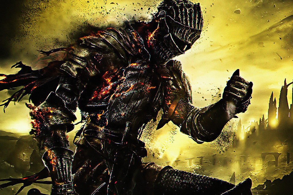 Dark Souls 3 Knight Poster