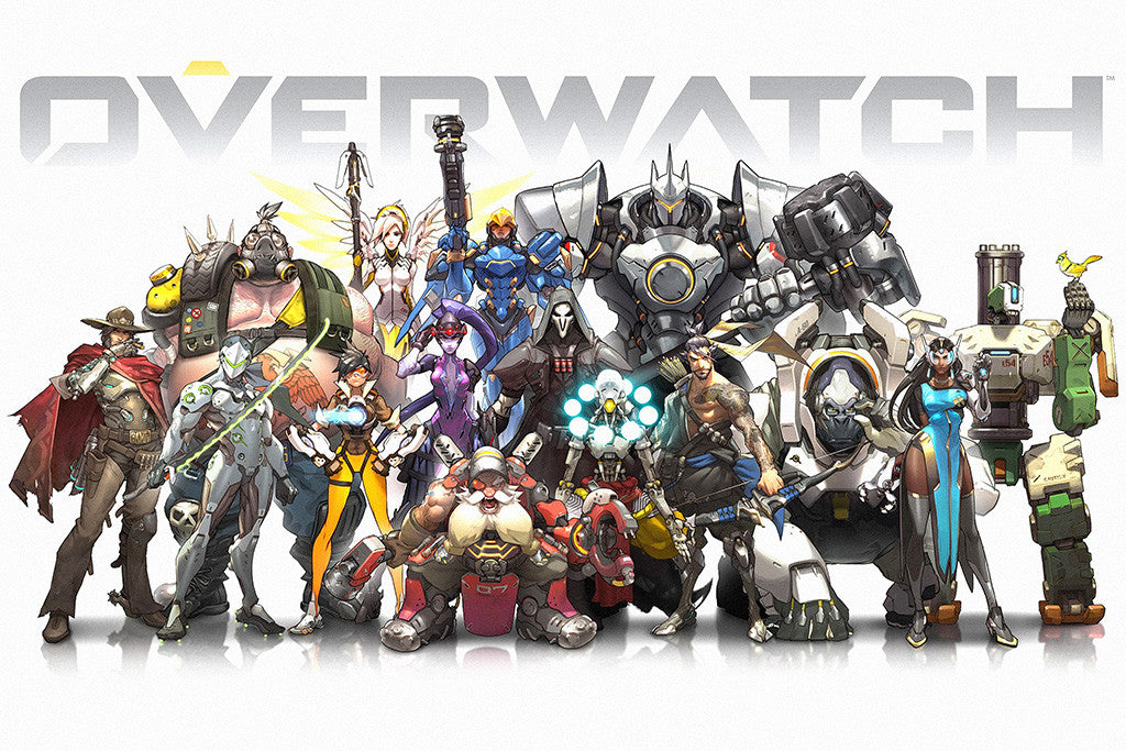 Overwatch map poster game poster poster Overwatch poster print Oasis gift gaming poster kids Overwatch Overwatch print