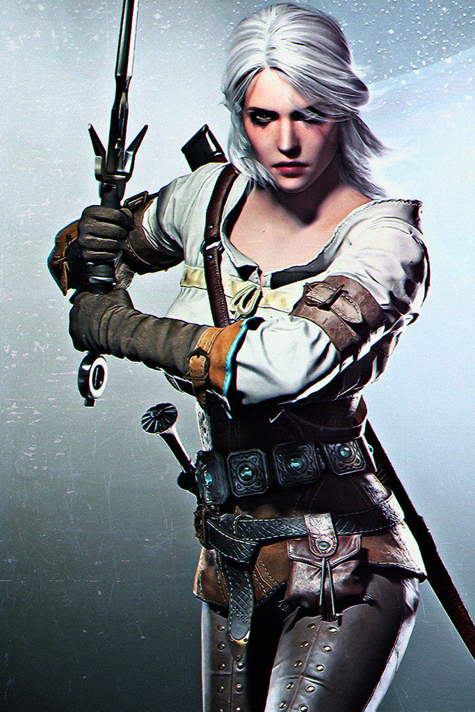 The Witcher 3 Wild Hunt Ciri Poster