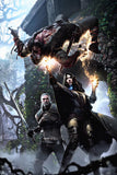The Witcher 3 Geralt of Rivia Yennefer Poster