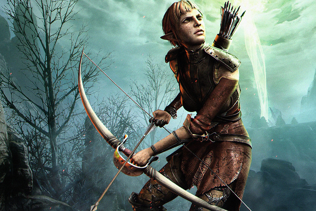 Dragon Age Inquisition Sera Poster