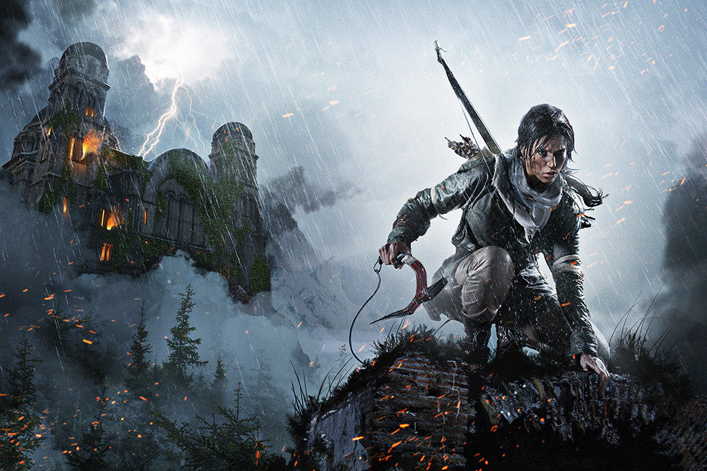 Rise Of The Tomb Raider Poster
