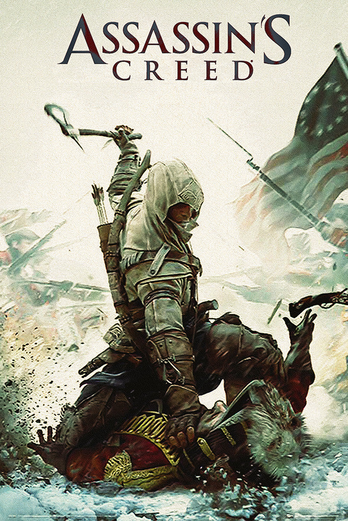 Assassins Creed 3 Poster