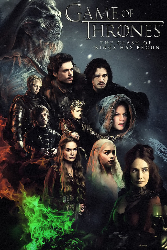 Game Of Thrones Characters Poster