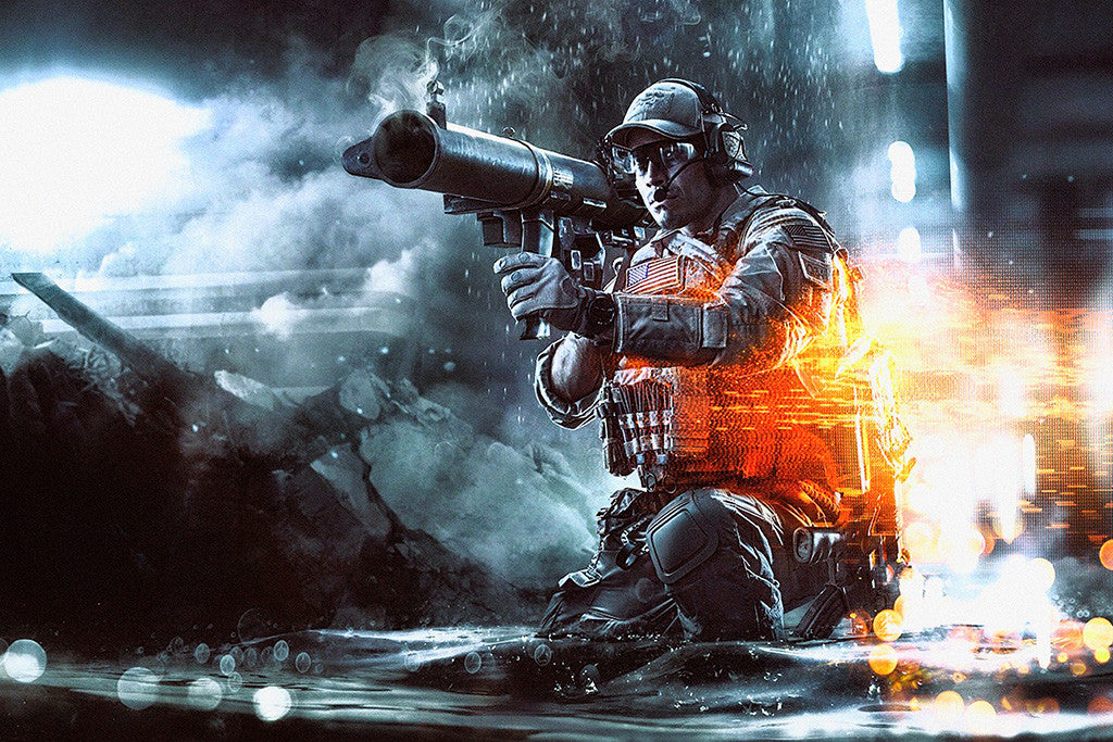 Battlefield 4 Second Assault Poster
