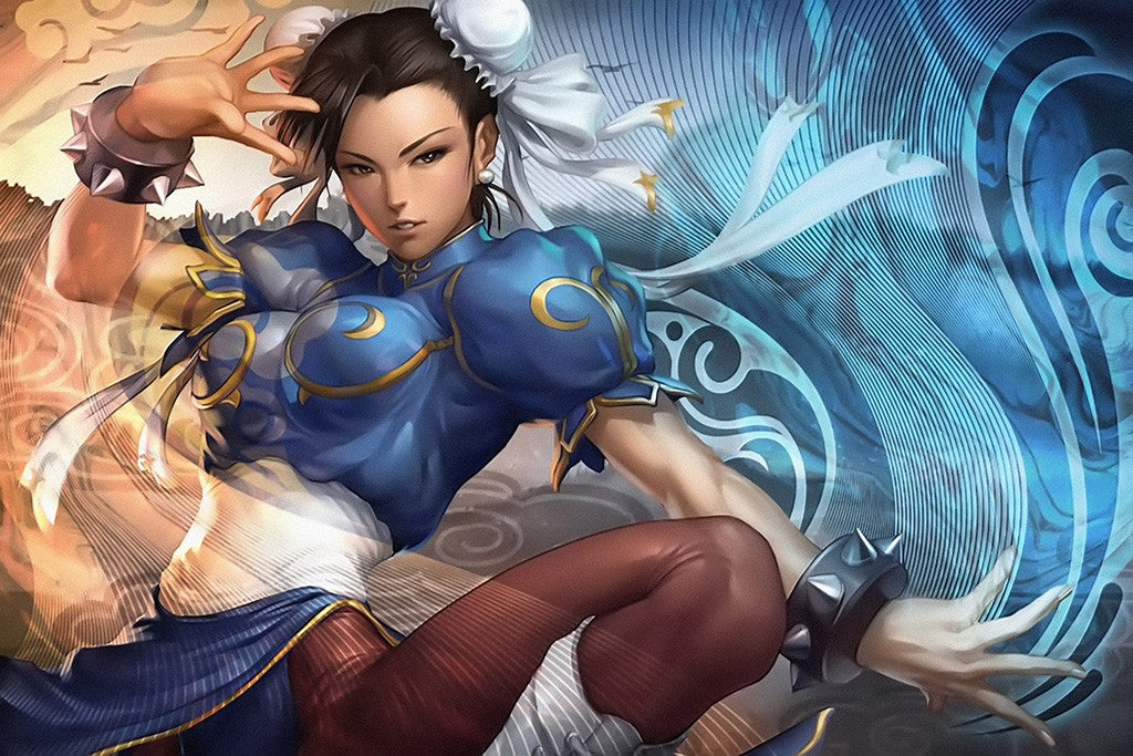 Chun-Li Street Fighter Poster