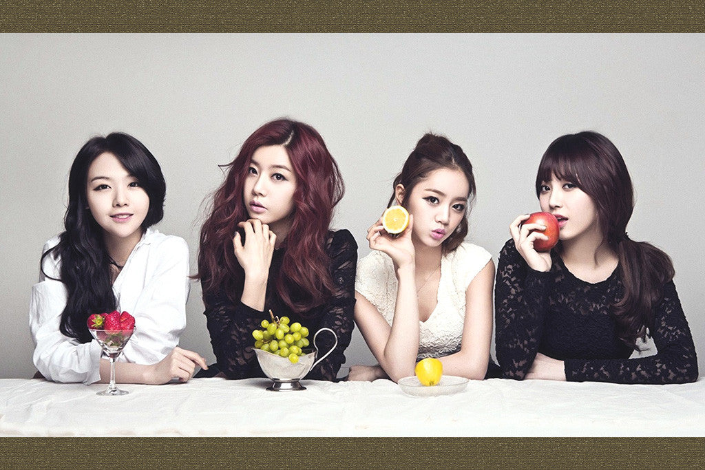 Girl's Day K-pop Poster