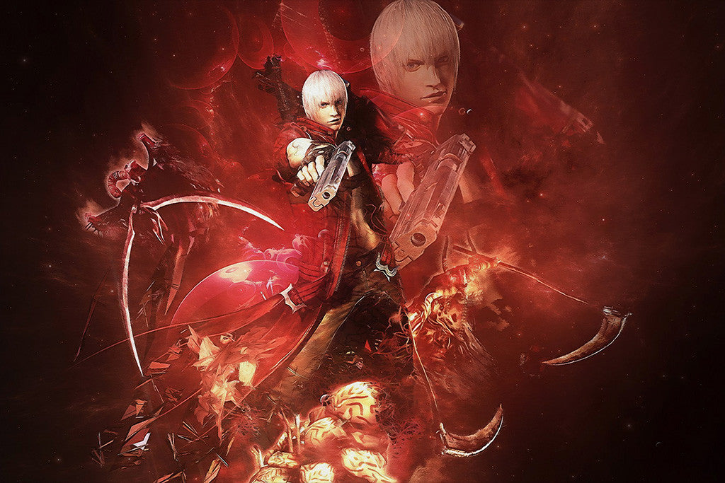 Devil May Cry Dante Demon Poster