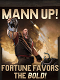 Team Fortress 2 TF2 Mann Up Poster
