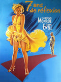 Marilyn Monroe 7 Year Itch Color Poster