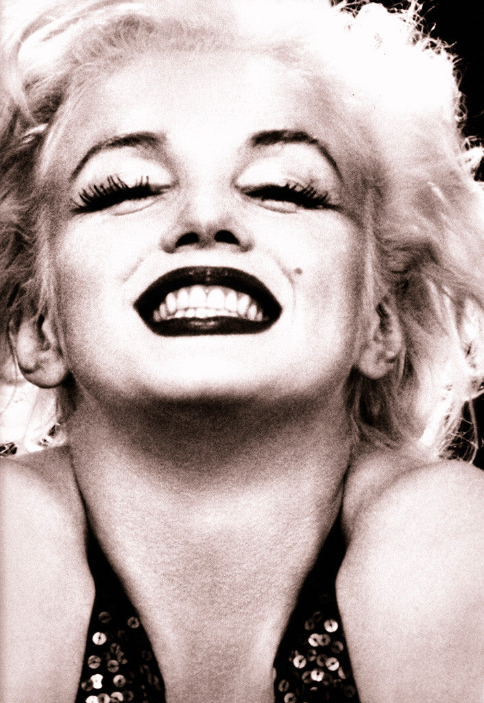 Marilyn Monroe Smile Laugh Poster