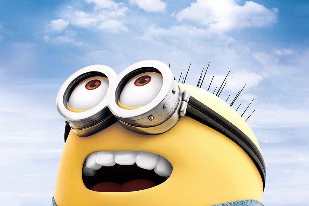 Happy Minion Poster