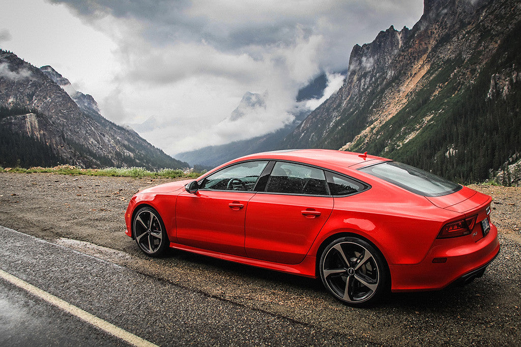 Audi Rs7 Red Poster