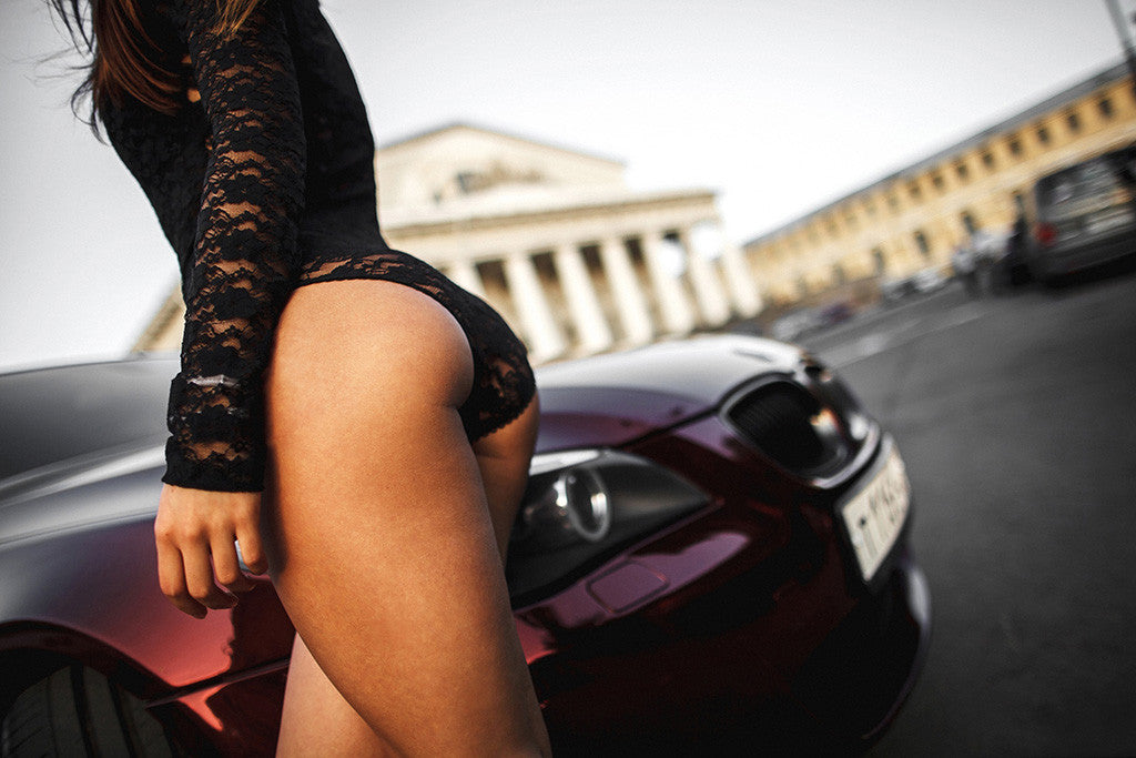 Hot babes with hot ass Bmw M5 E60 Sexy Hot Girl Ass Booty Poster My Hot Posters
