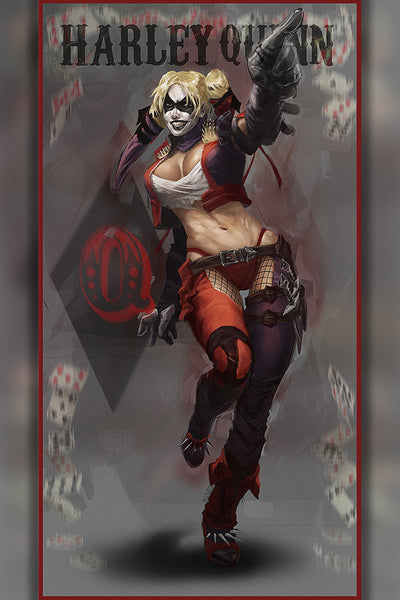 Harley Quinn Art Poster – My Hot Posters