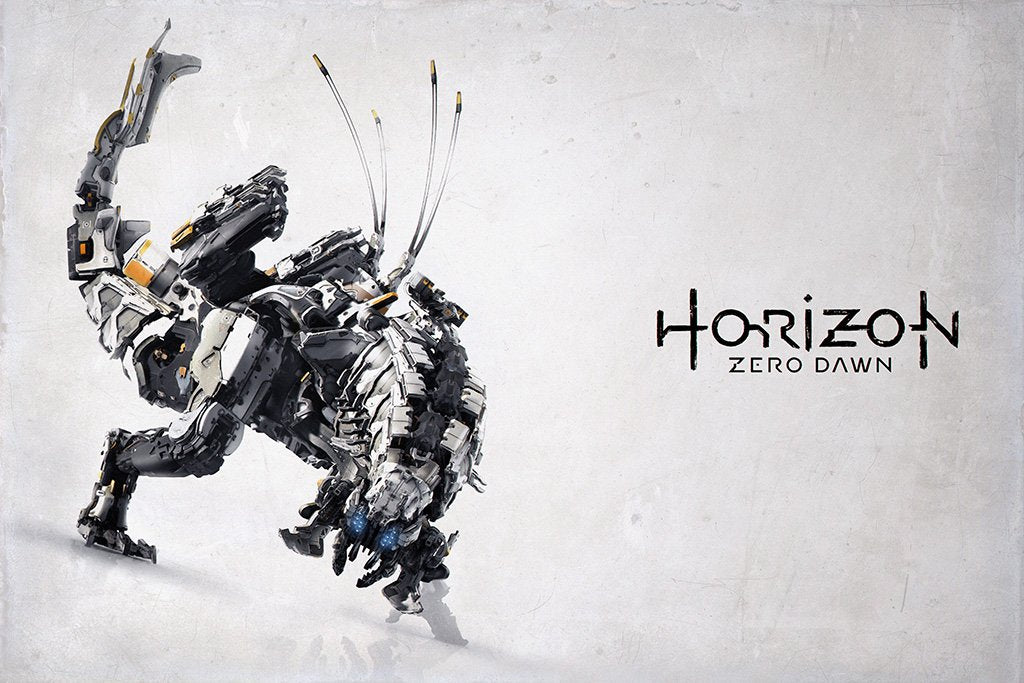 Horizon Zero Dawn Game Poster