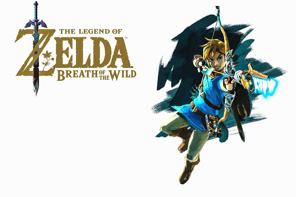 Breath of the Wild The Legend of Zelda Game Poster