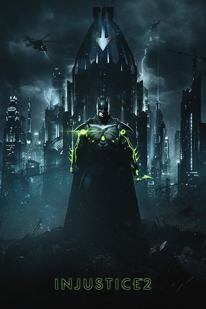 Injustice 2 Batman Poster