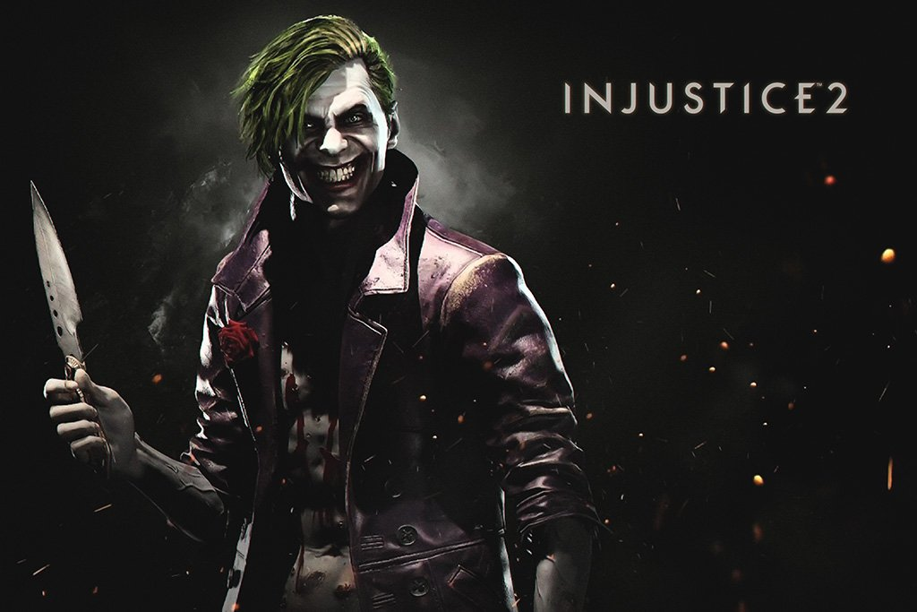 Injustice 2 Joker Poster