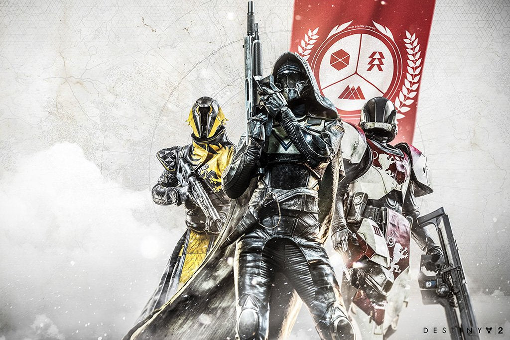 Destiny 2 Characters Poster