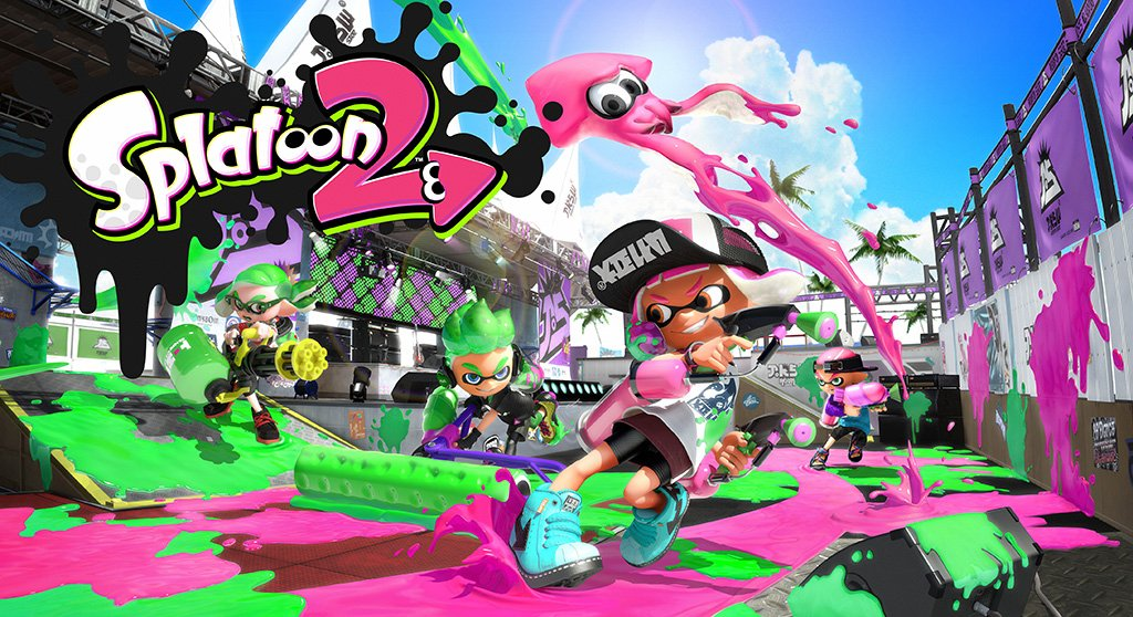 Splatoon 2 Game Poster