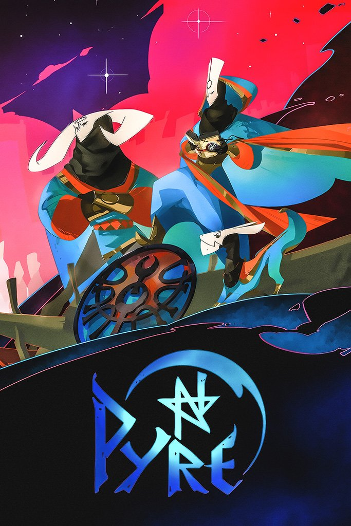 Pyre Game Poster