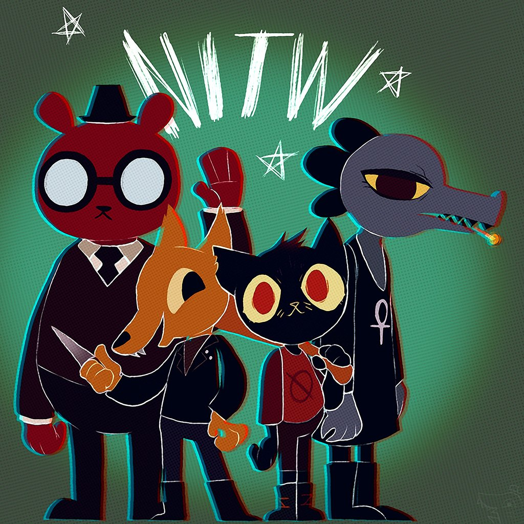 Night in the Woods Game Poster