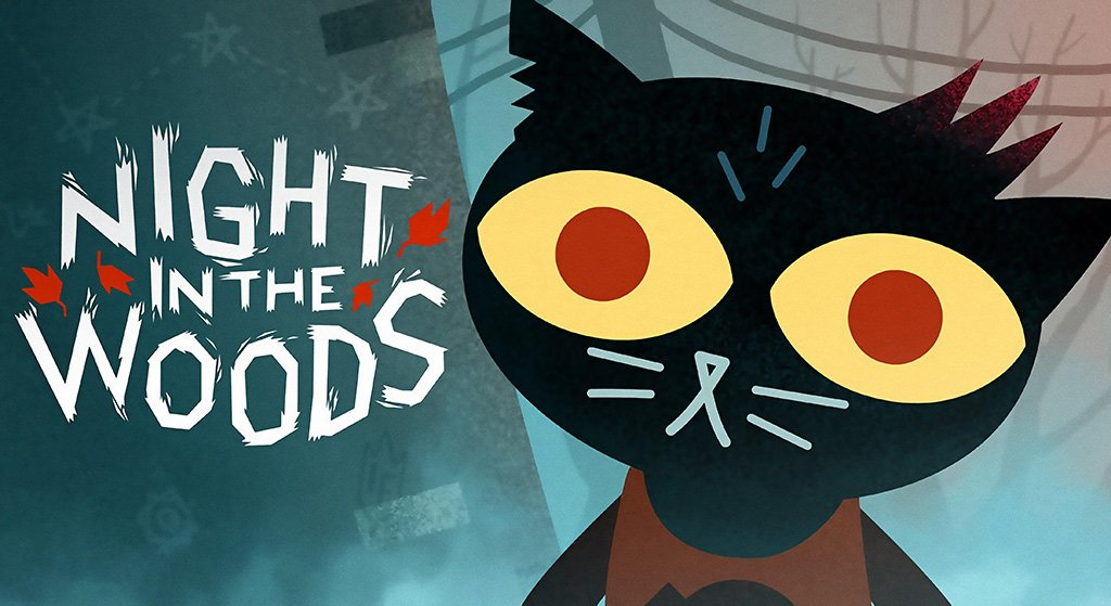 Night in the Woods 2017 Game Poster