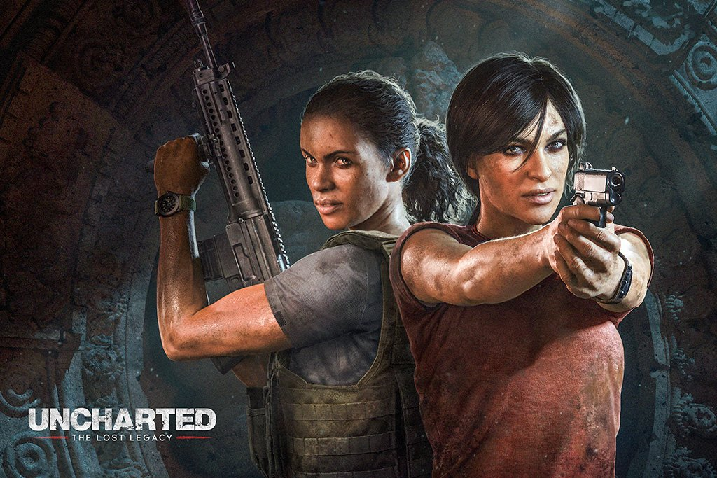 Uncharted The Lost Legacy Poster