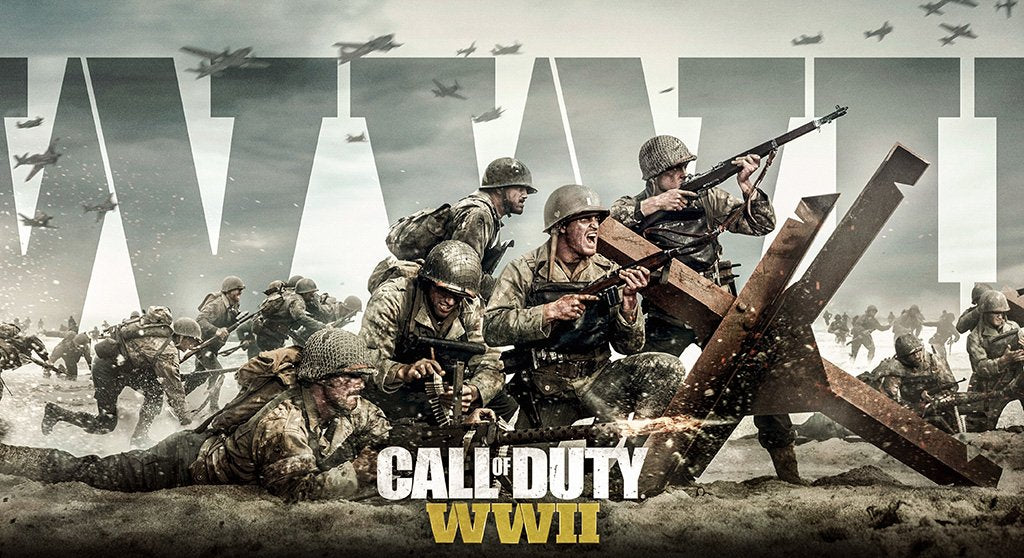 Call of Duty WWII 2017 Game Poster