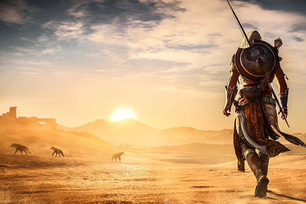 Assassin's Creed Origins 2017 Poster