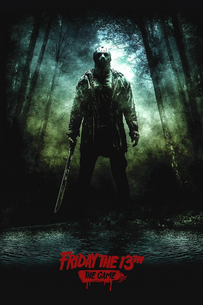 Friday the 13th The Game Jason 2017 Poster