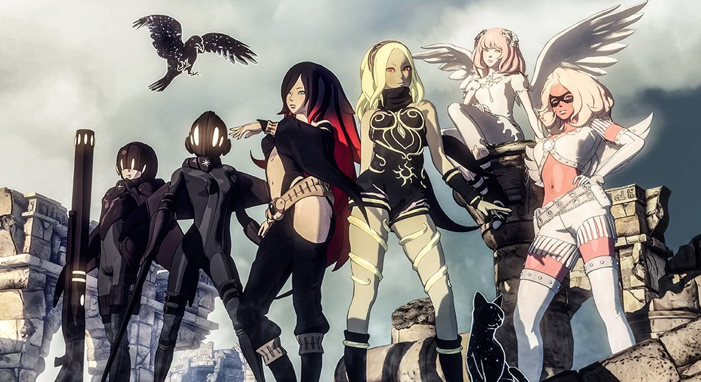 Gravity Rush 2 Video Game Poster