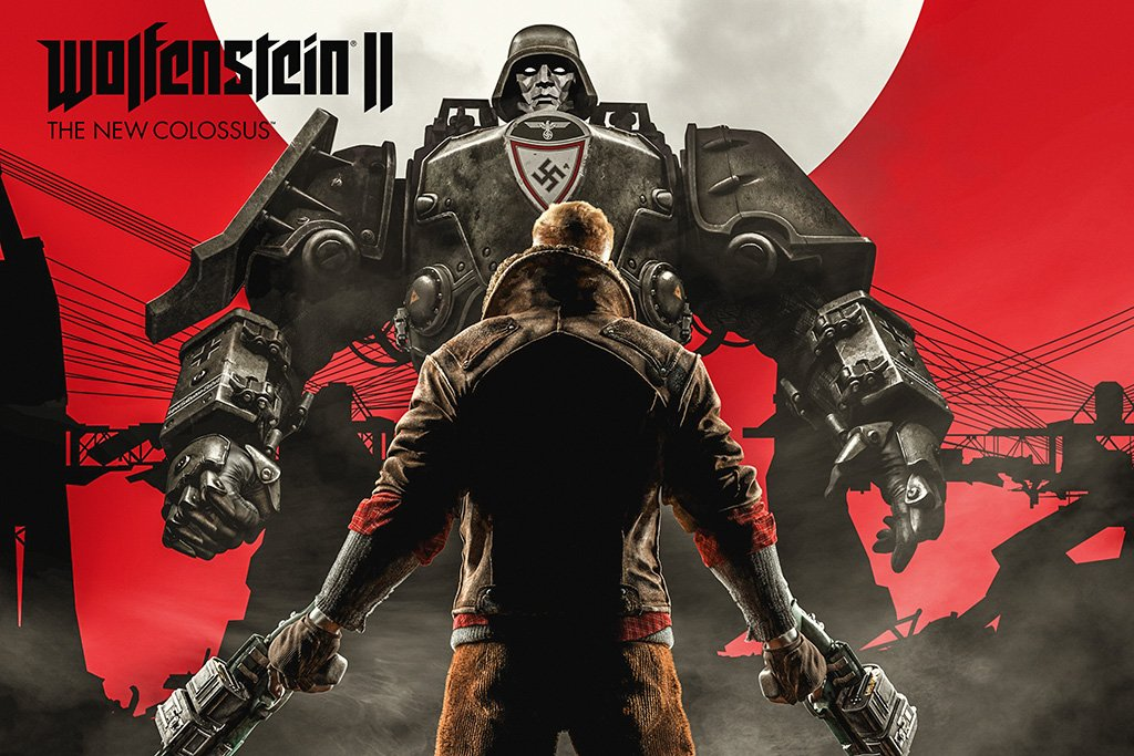 Wolfenstein II The New Colossus Poster