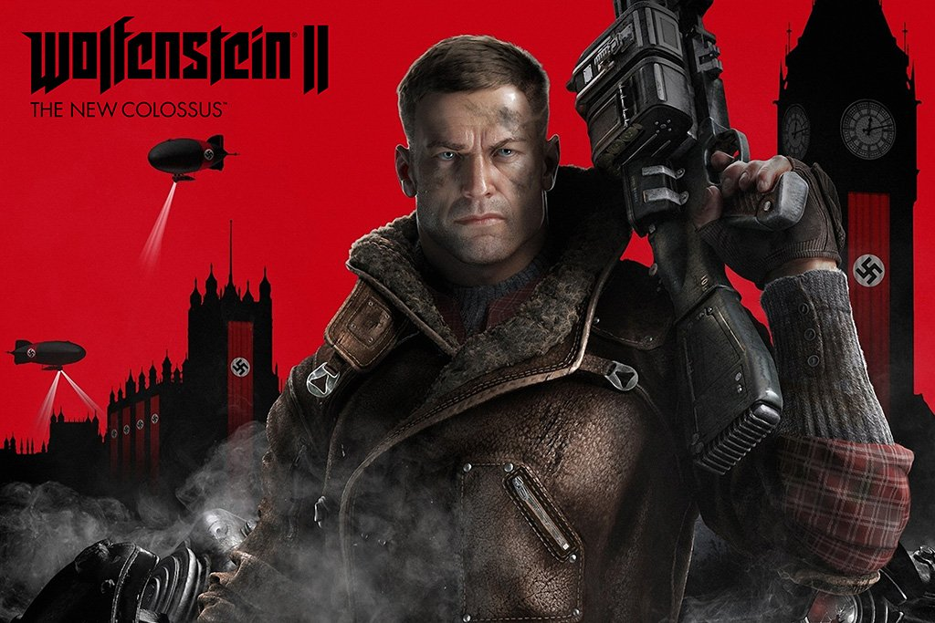Wolfenstein II The New Colossus Game Poster