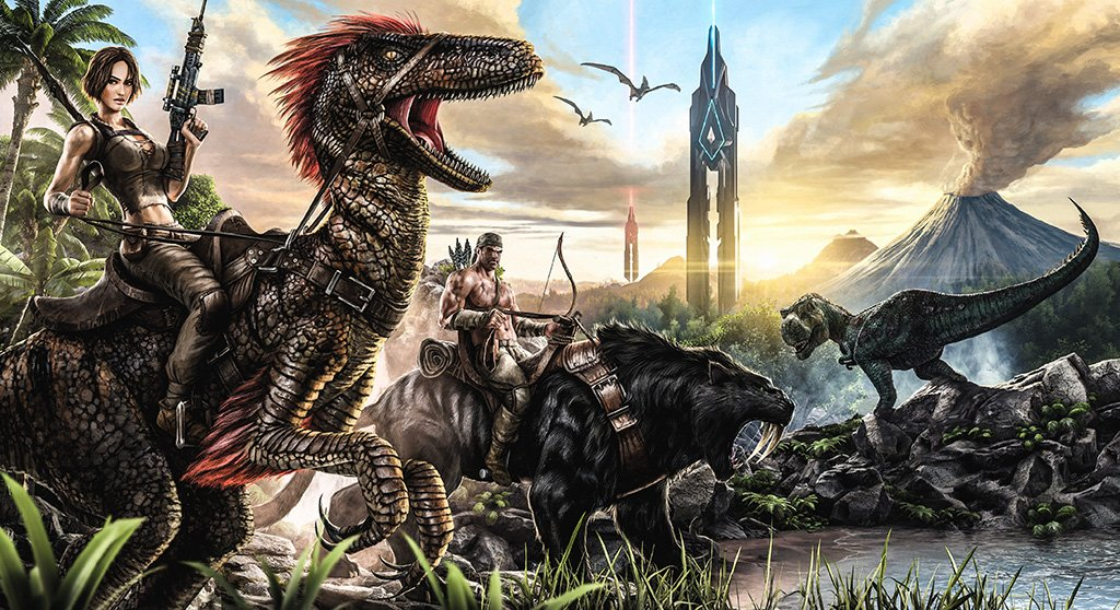ARK: Survival Evolved Game Poster