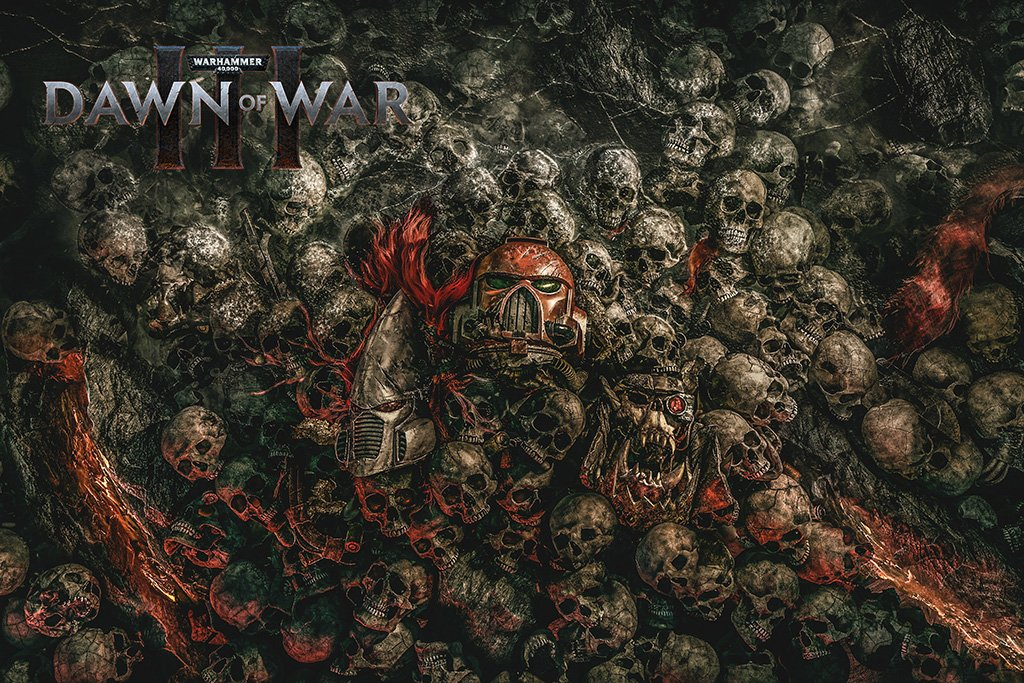 Warhammer 40000 Dawn of War 3 2017 Poster
