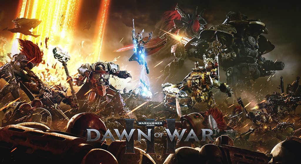 Warhammer 40000 Dawn of War 3 Video Game 2017 Poster