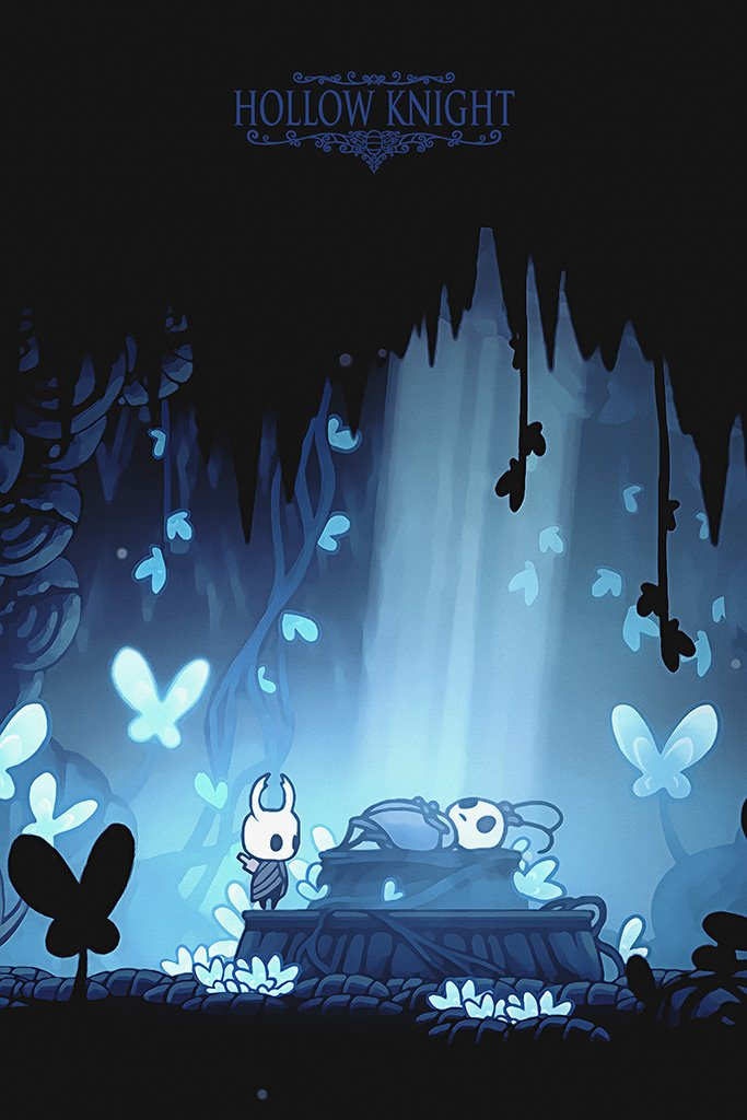 Hollow Knight Game Poster