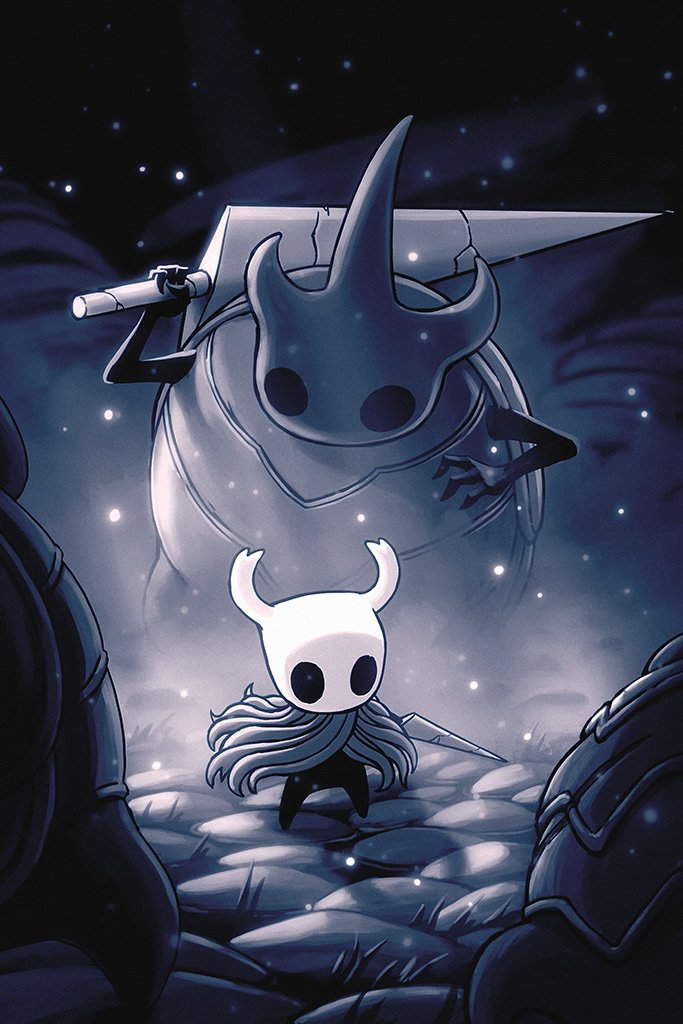 Hollow Knight Game 2017 Poster