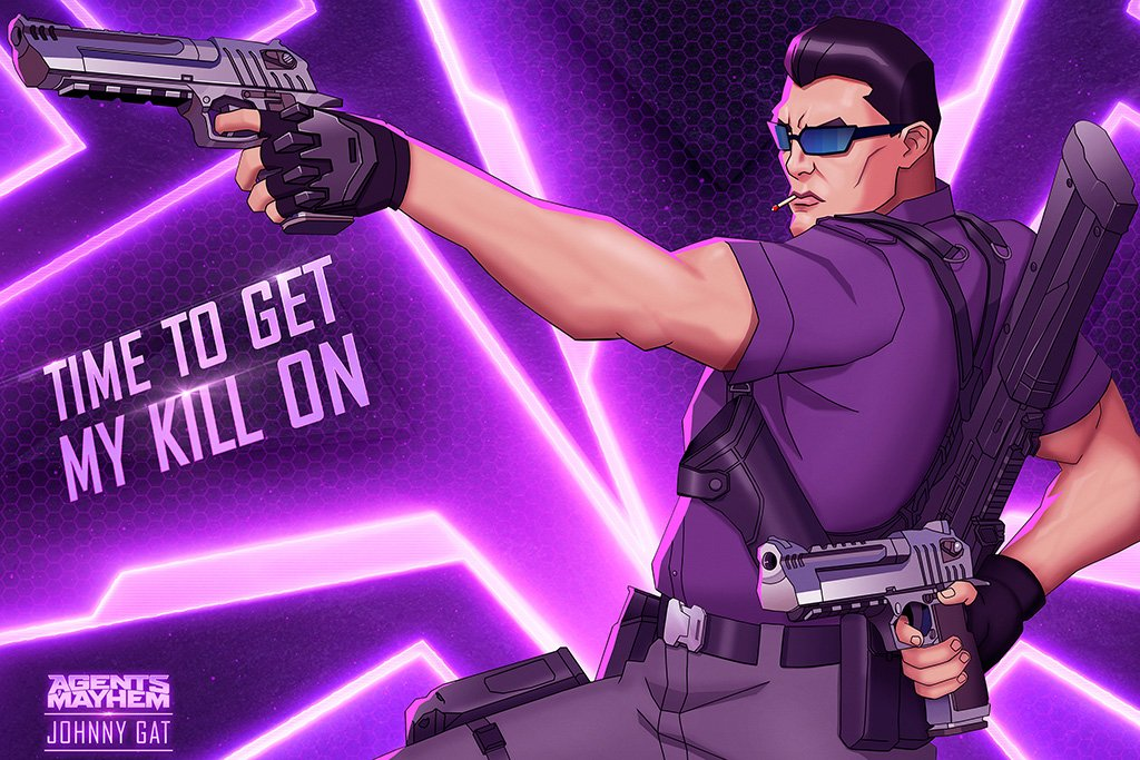 Agents of Mayhem Video Game 2017 Poster